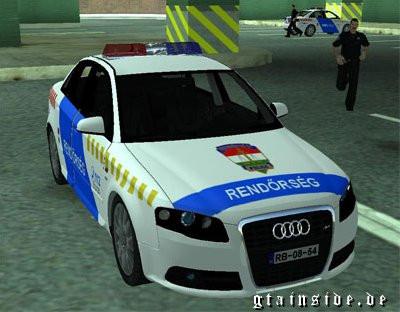 Audi S4 Hungarian PD