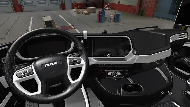 DAF 2021 White Interior