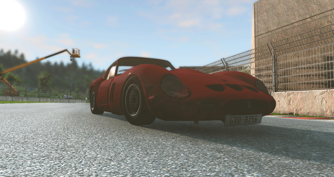 Improved Ferrari 250 GTO