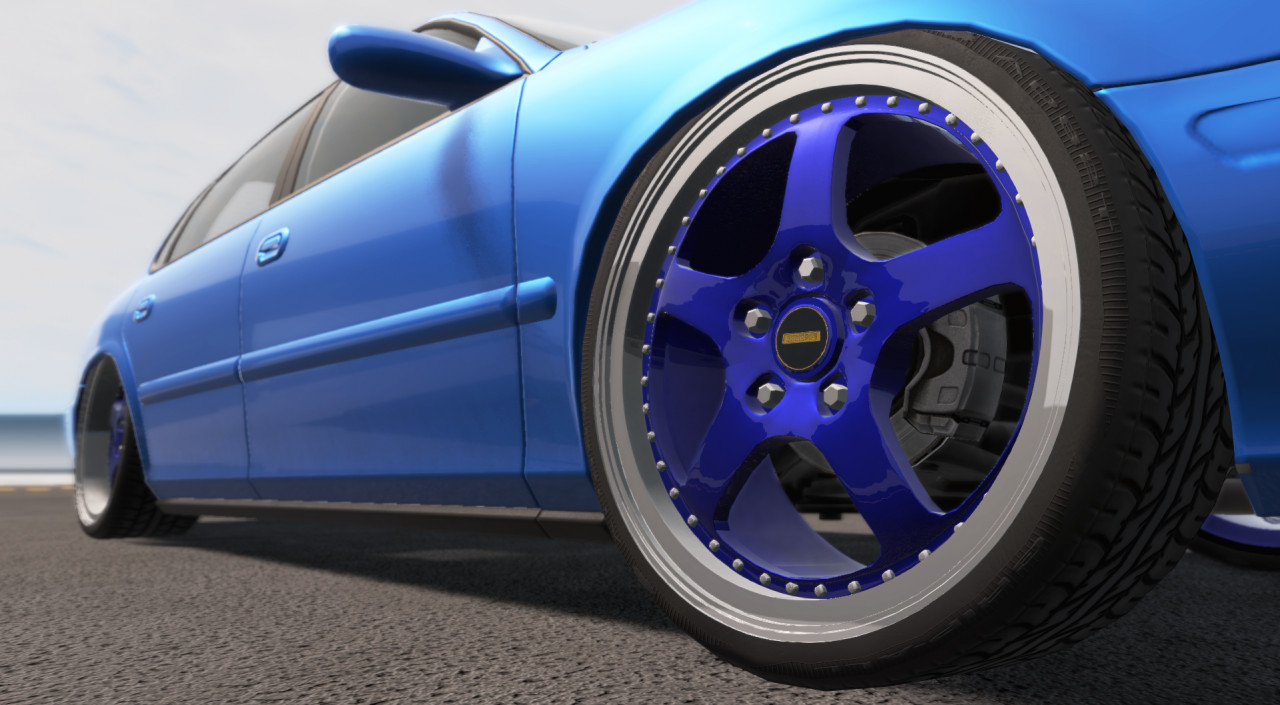 "SIMMONS FR1 20"" Wheels"