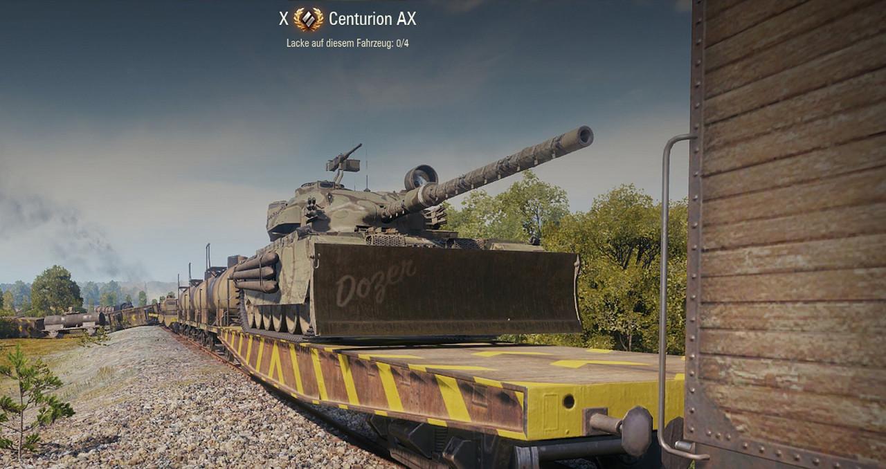 Centurion AX Dozerblade