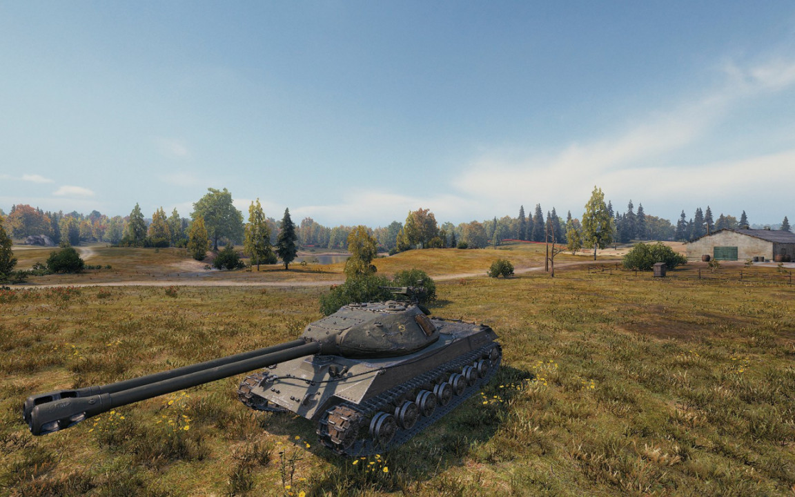 IS-3A and Defender to Object 703