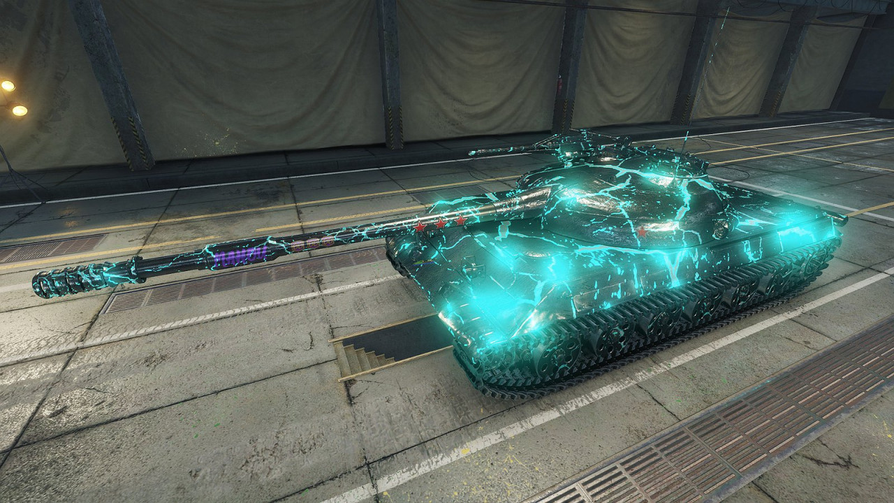 """Spectral Lightning"" Obj. 430U skin (GLOW EFFECT/CUSTOMIZABLE)"