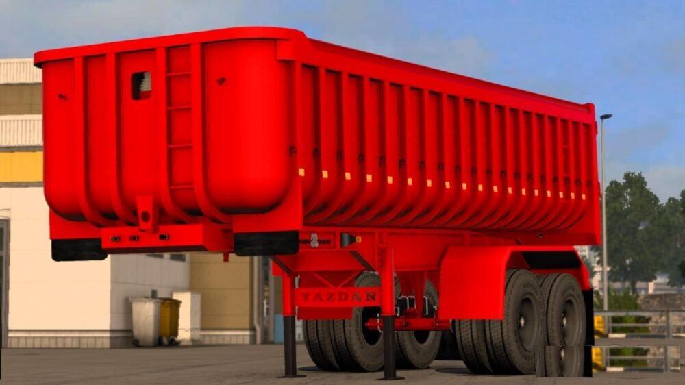 yazdan dump trailer