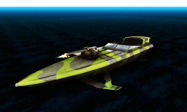 Triton Patrol Boat from Mercenaries 2: World in Flames