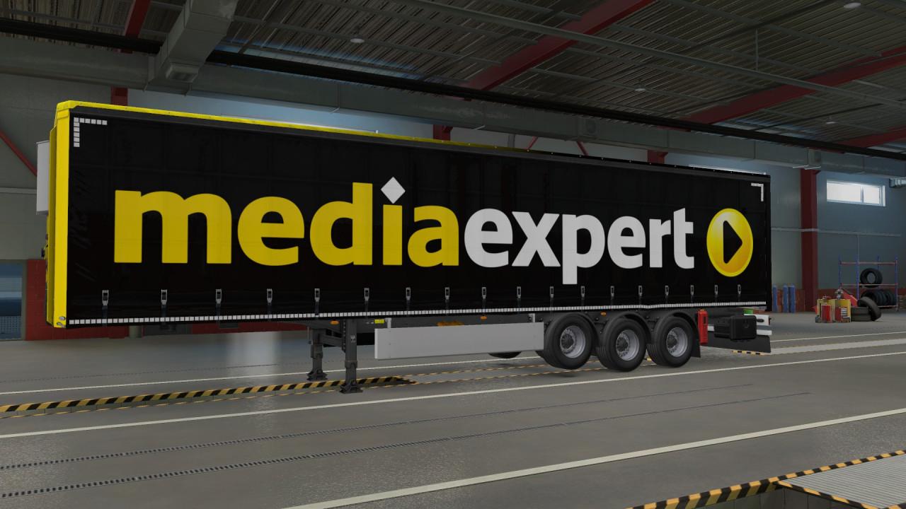 media expert trailer skin, skórka naczepy