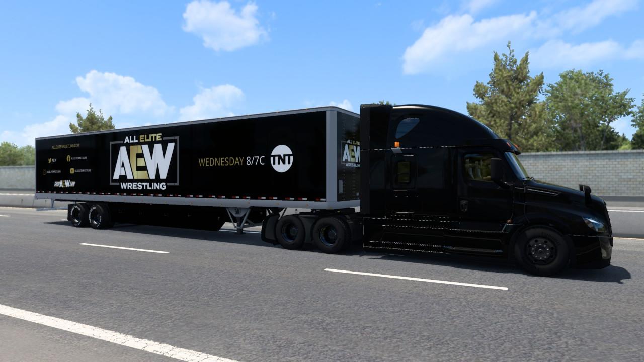 AEW Trailer Skin