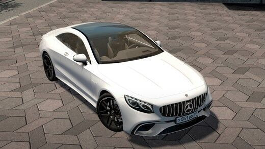 Mercedes-Benz AMG S63 Coupe 2018