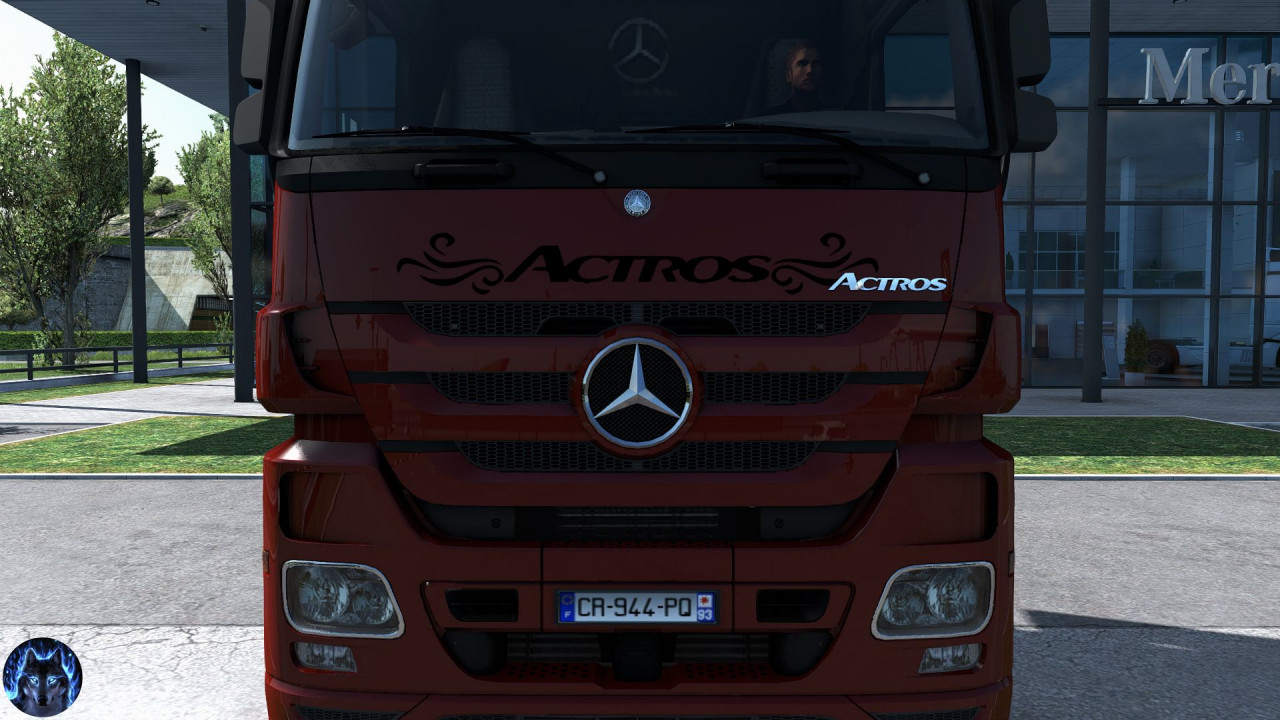 Mercedes Actros MP3 Reworked