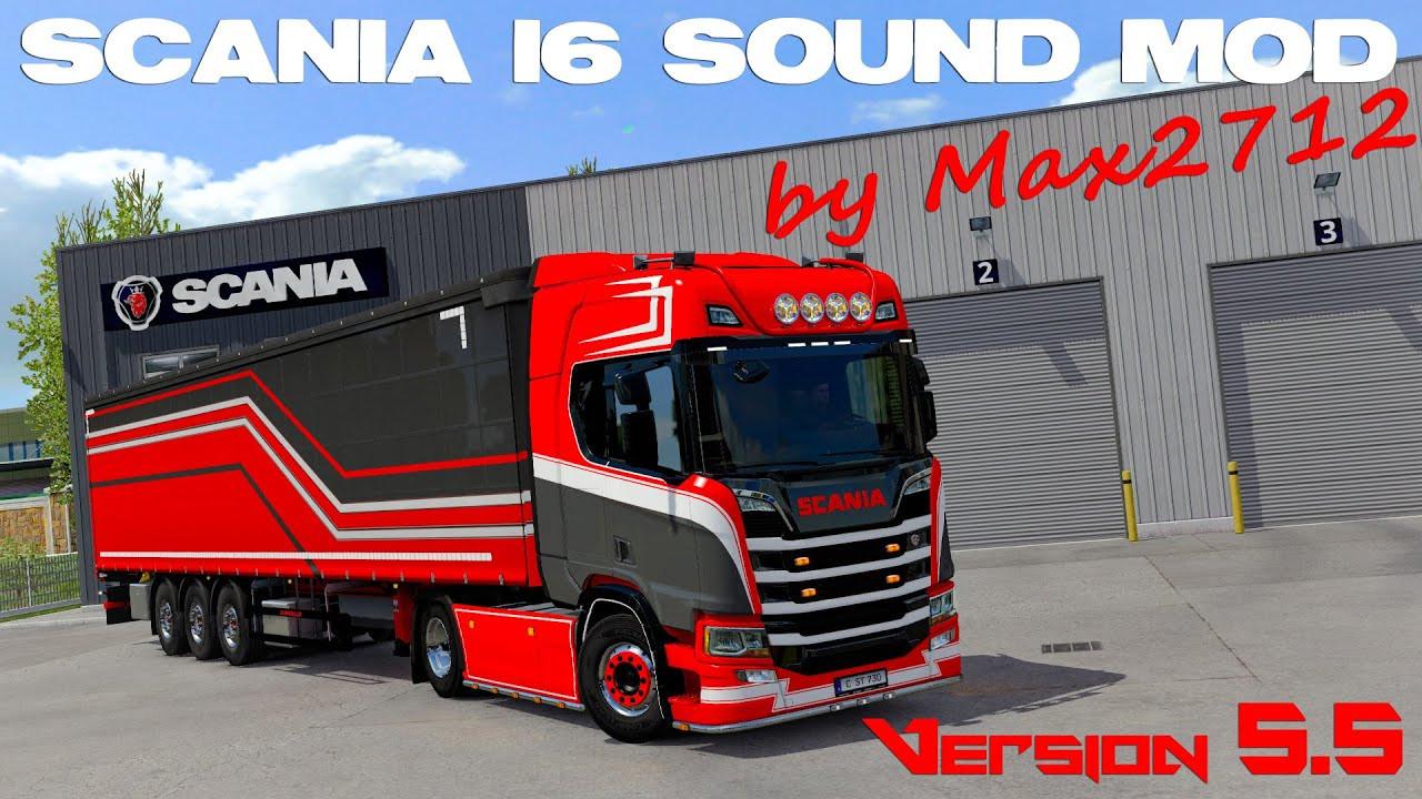 SCANIA NextGen I6 sound mod by Max2712 V2.1