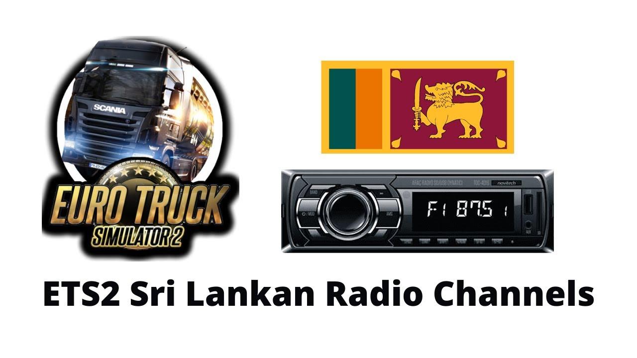 ETS2 Set-up Sri Lankan Radio Channels