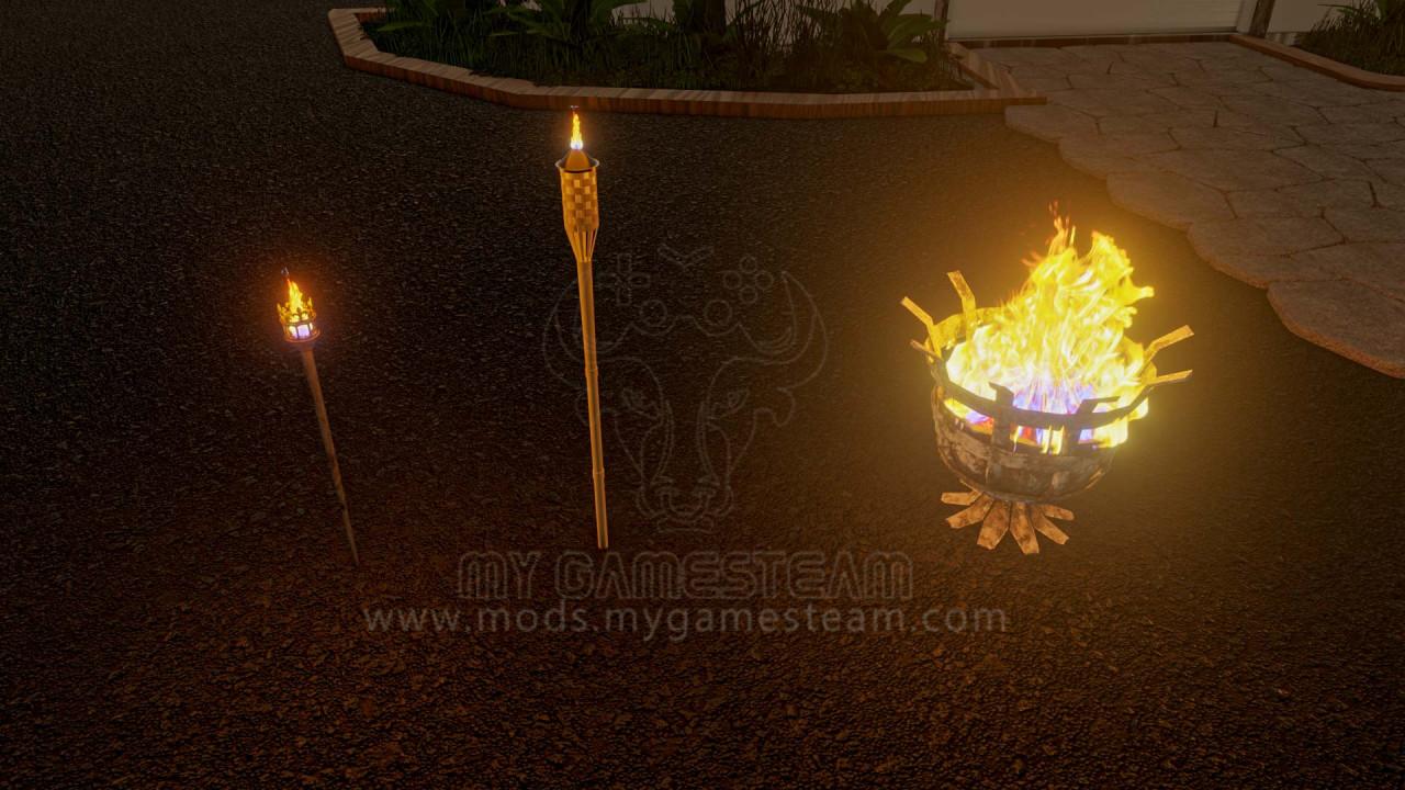 Garden Torch Light Pack