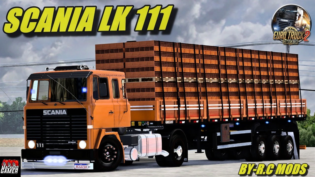 SCANIA LK 111 - ETS2 1.40, 1.41