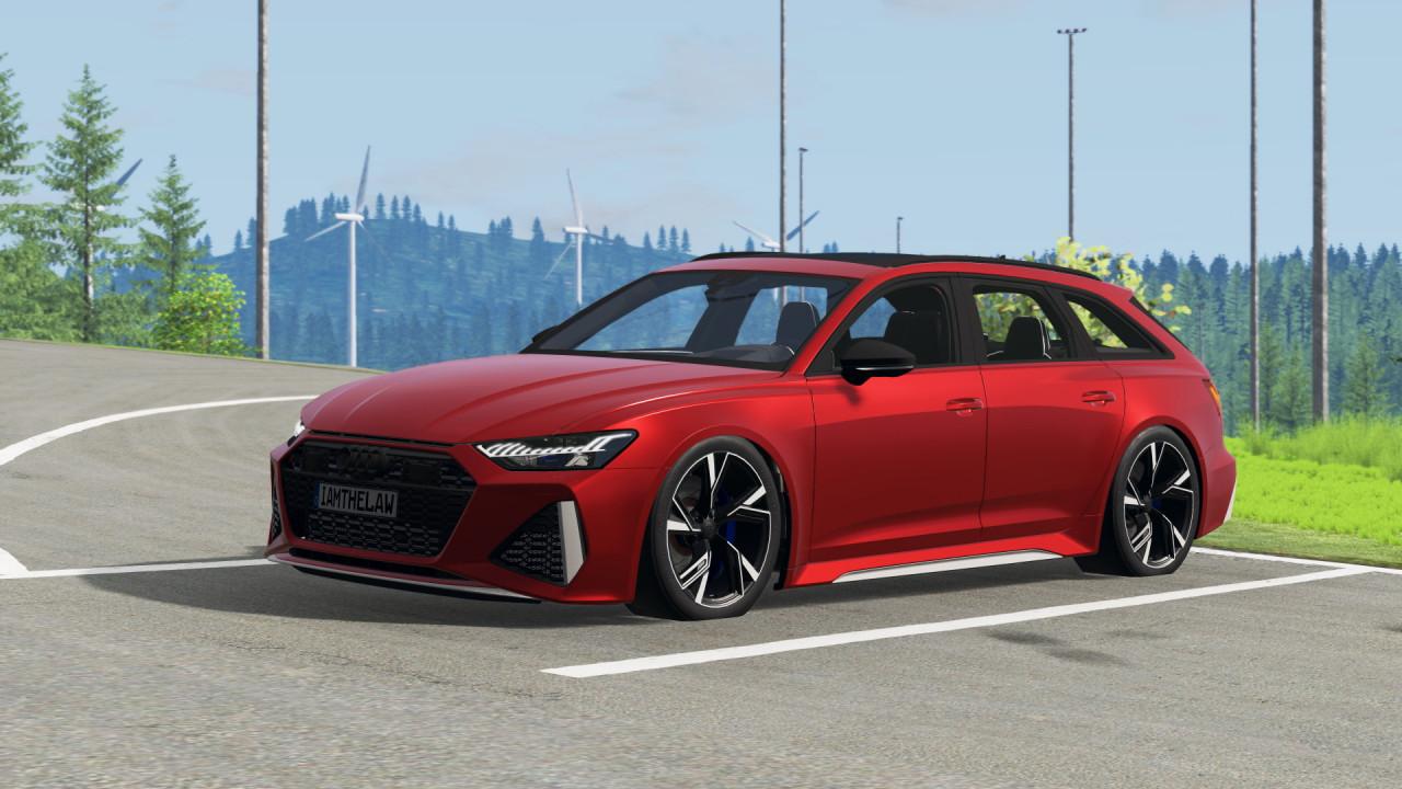 Audi RS6 C8 4K Avant 2020 (updated)