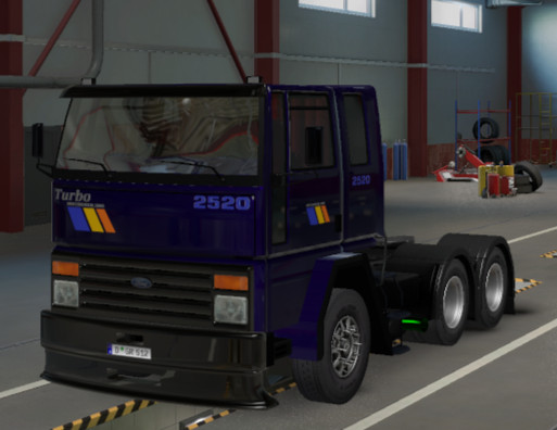 Ford cargo 2520 ets2 1.41