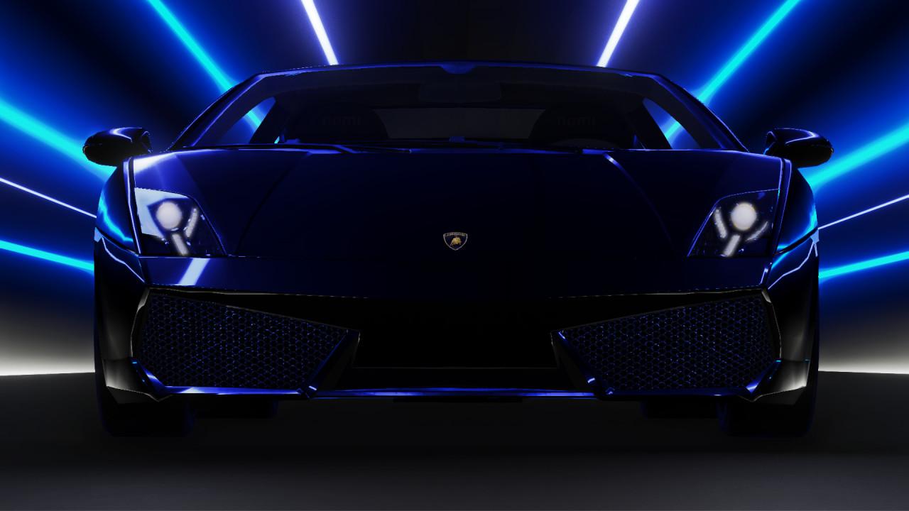Improved Lamborghini Gallardo