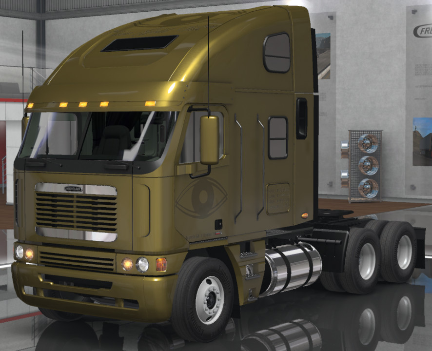 Pure Gold Vision Skins - Freightliner Argosy