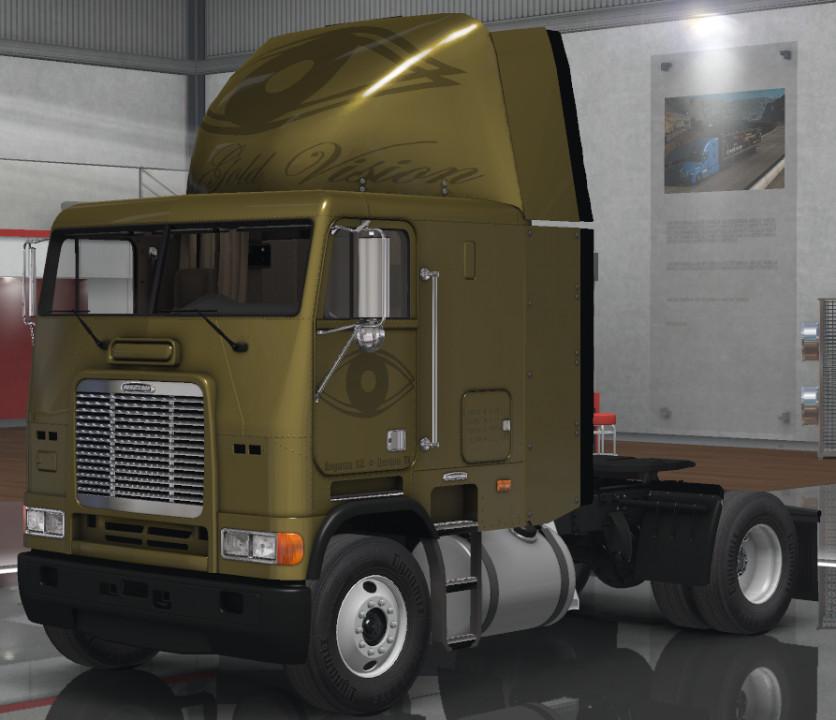 Pure Gold Vision Skins - Freightliner FLB