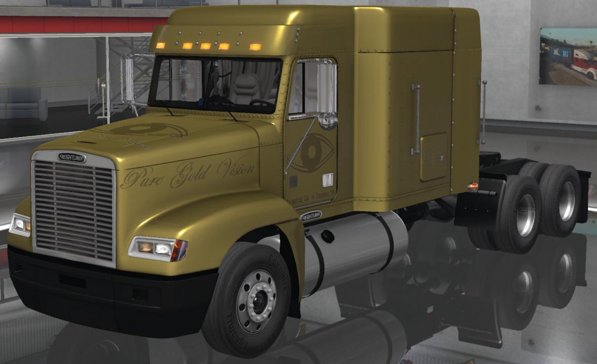 Pure Gold Vision Skins - Freightliner FLD