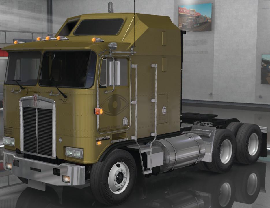 Pure Gold Vision Skins - Kenworth K100-E VIT