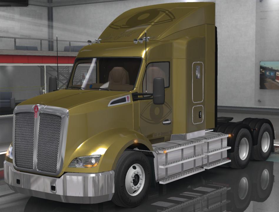 Pure Gold Vision Skins - Kenworth T610