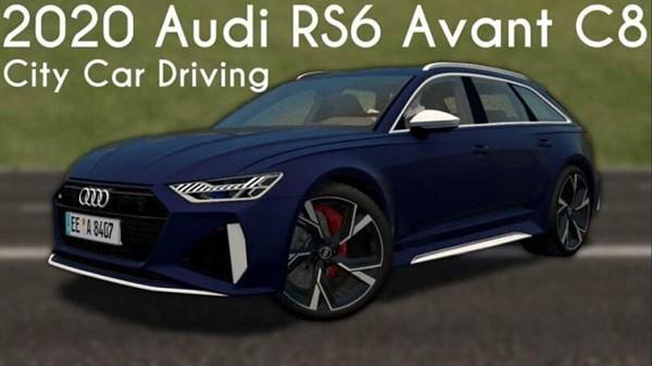 2020 Audi RS6 Avant C8