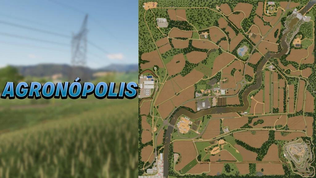 Agronópolis Map
