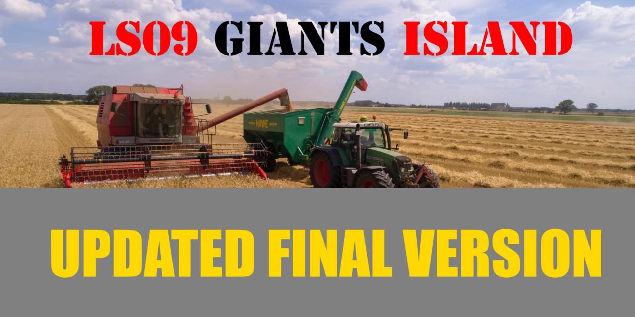 Giants Island LS09 Updated