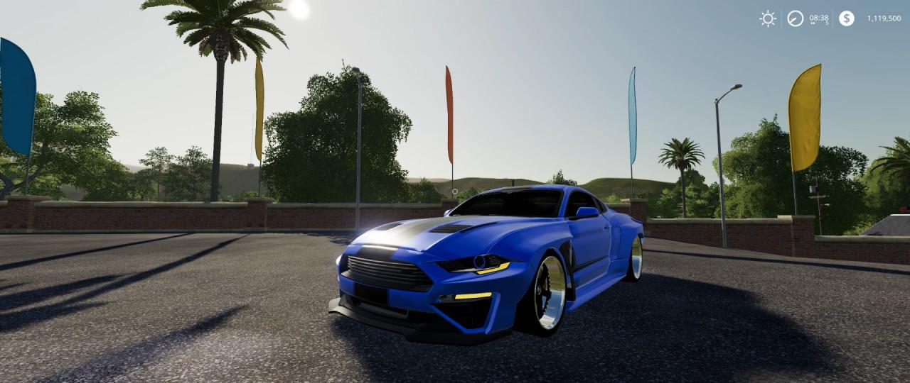 Mustang Rousch Wide Body