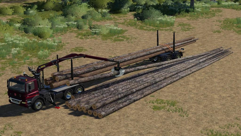 Placeable Longwood Pack