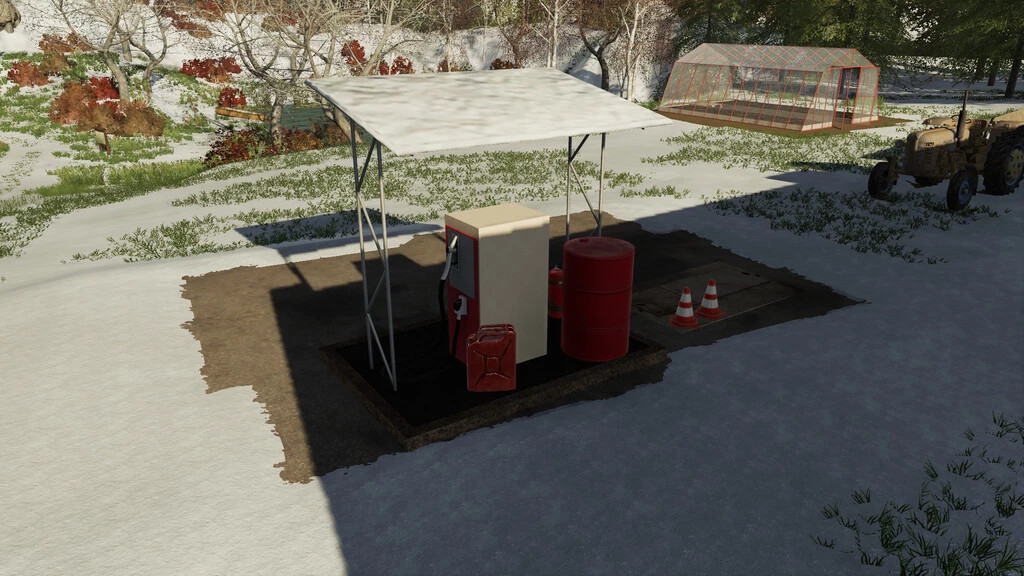 Small Gas Station
