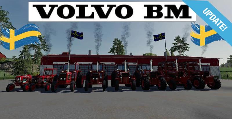 Volvo BM pack senaste/last 3