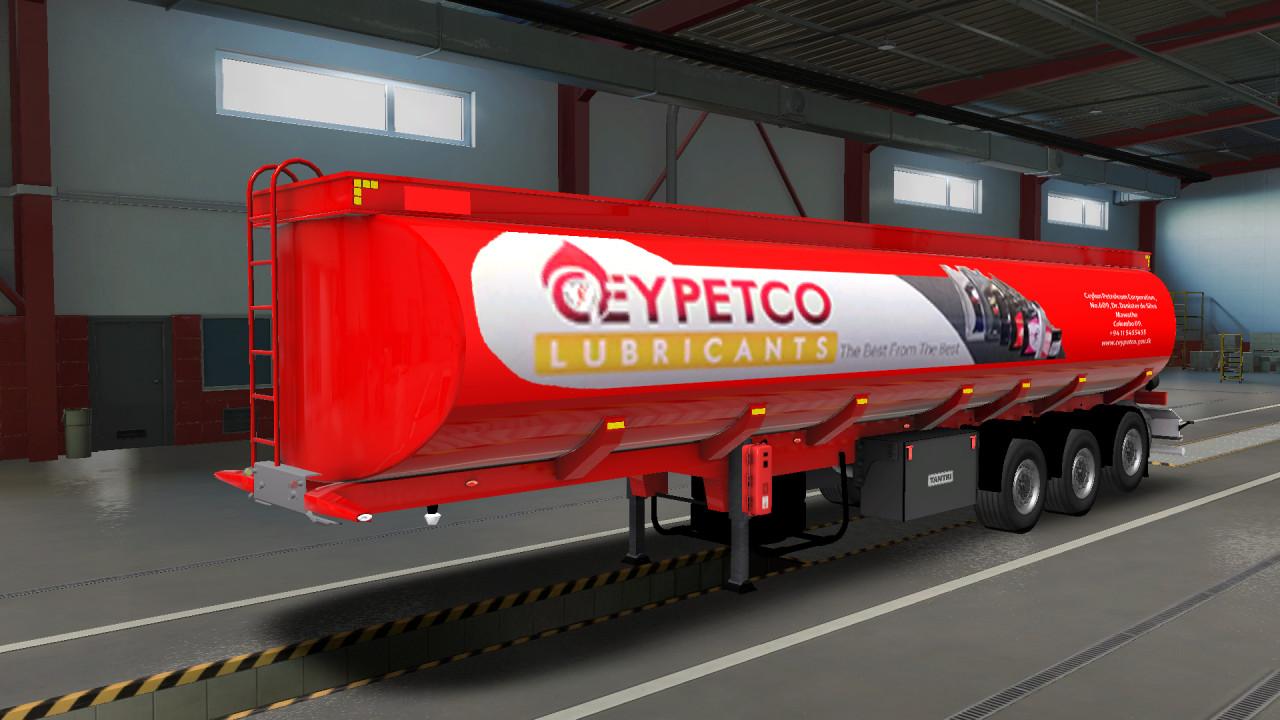 Ceypetco Fuel Tank Trailer  v1.40 v1.41