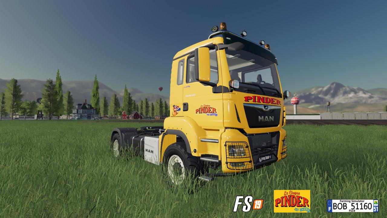 Truck PINDER By BOB51160