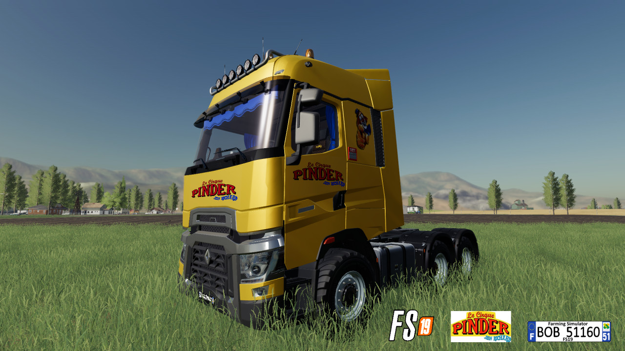 Renault TRanger PINDER By BOB51160