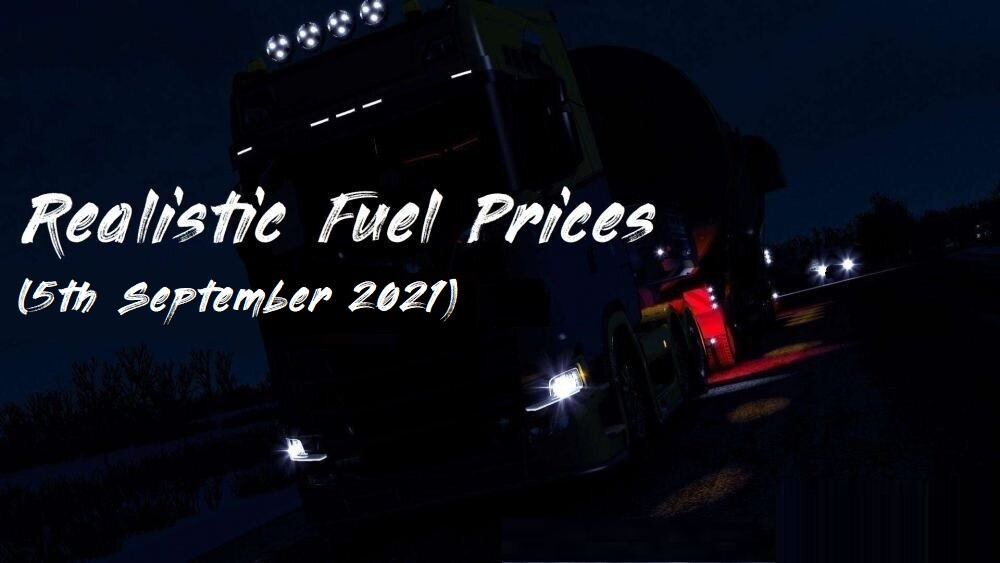 Realistic Fuel Prices - 5th September 2021