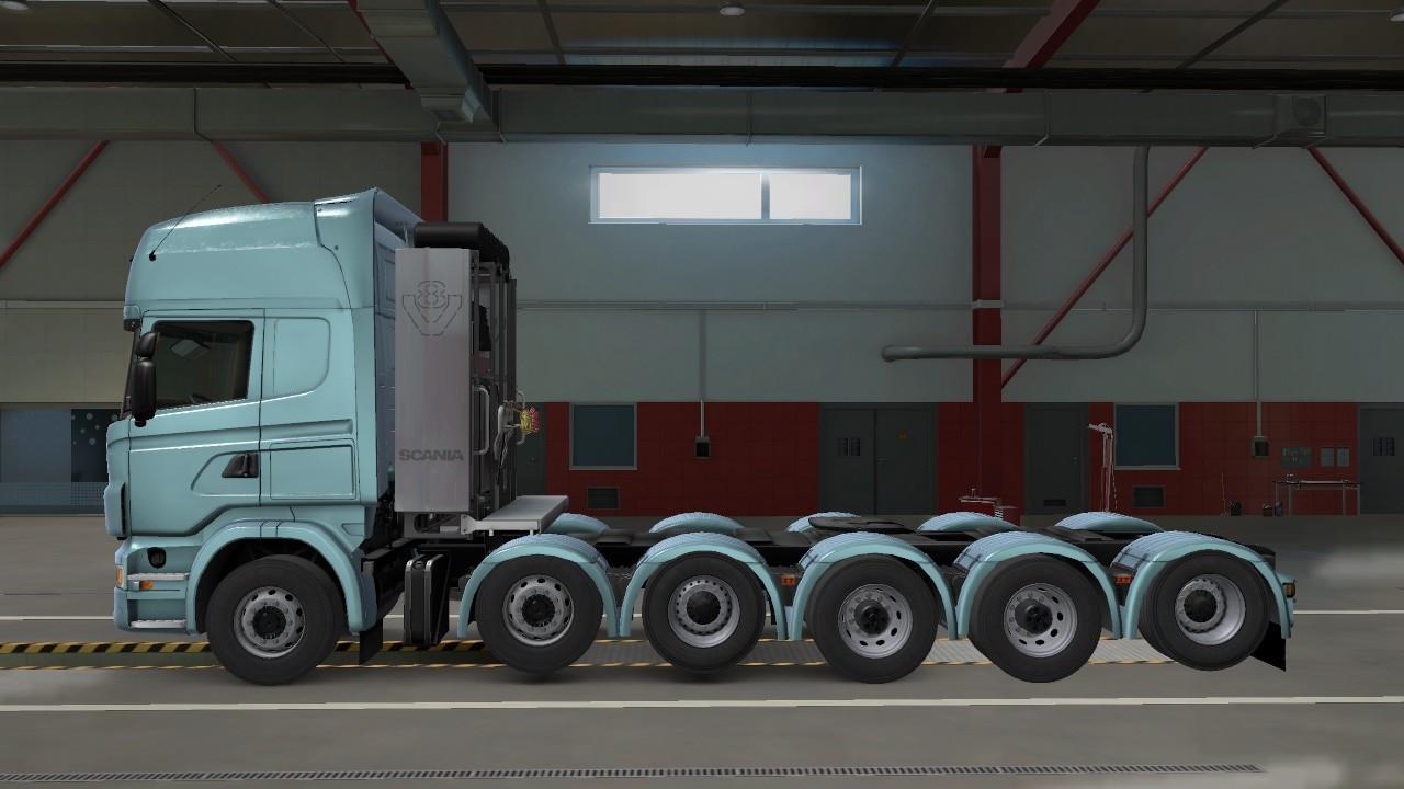 Scania R 12X4