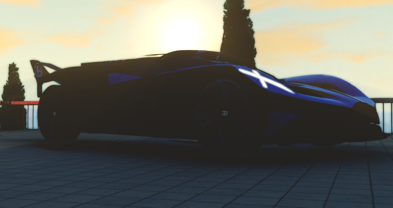 Improved Bugatti Bolide