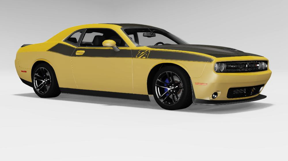 Dodge Challenger Hellcat Mod
