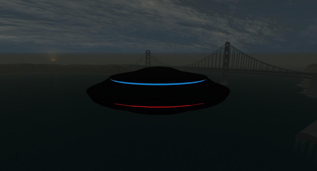 Drivable UFO