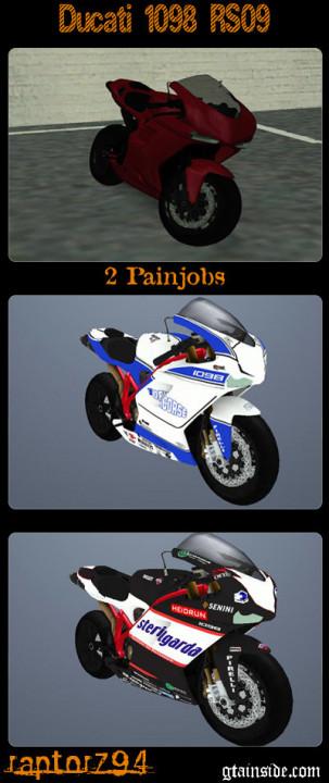 Ducati 18 RS 09