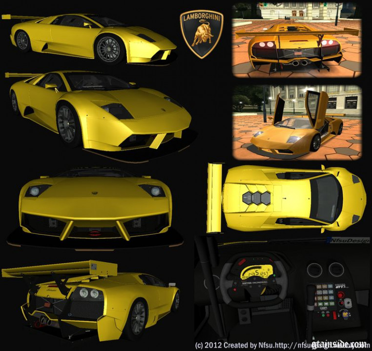 200 Lamborghini Murcielago R-SV GT