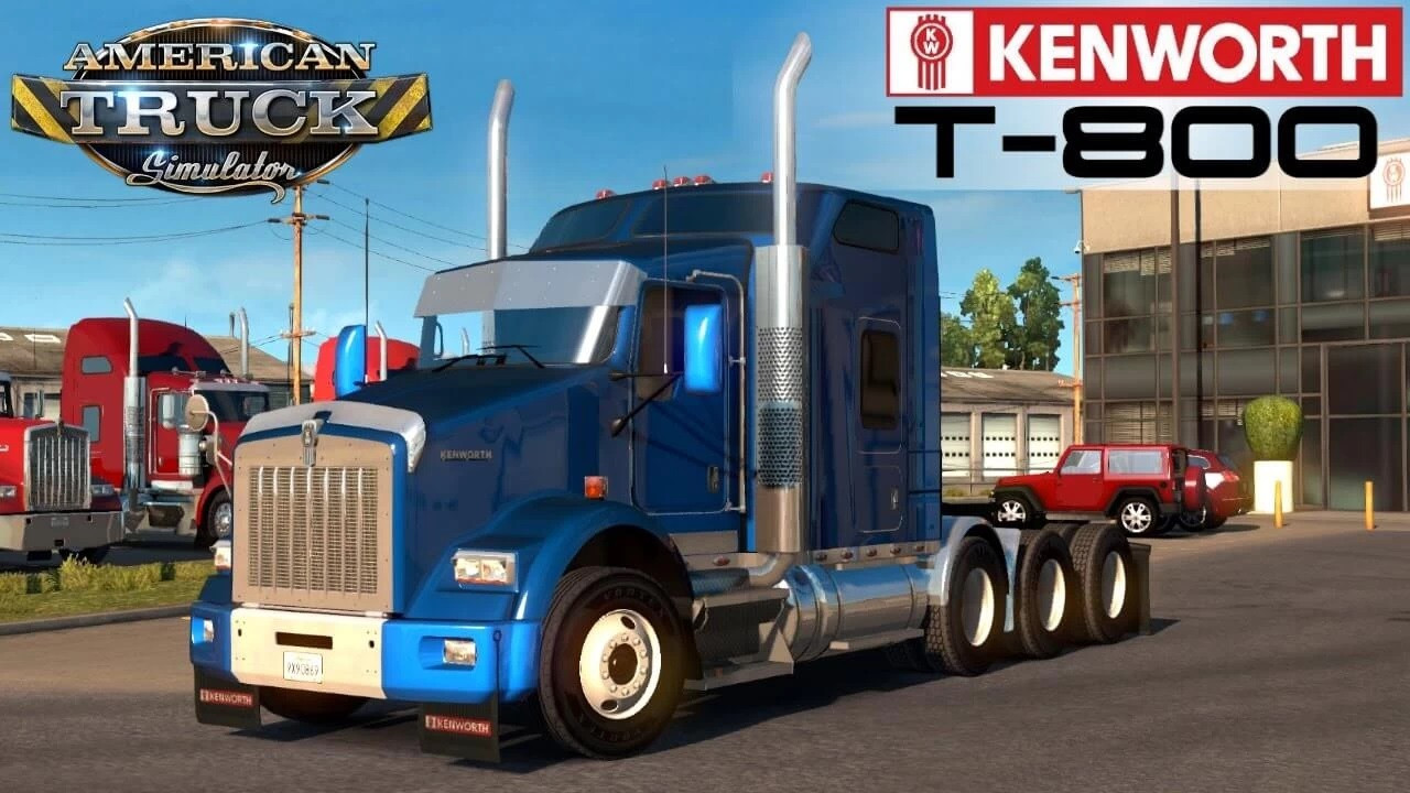Kenworth T800 by Angel ATS 1.42