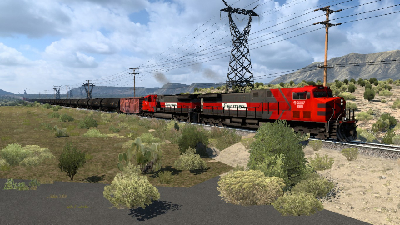 Long Trains Addon (up to 100 railcars) for mod Improved Trains