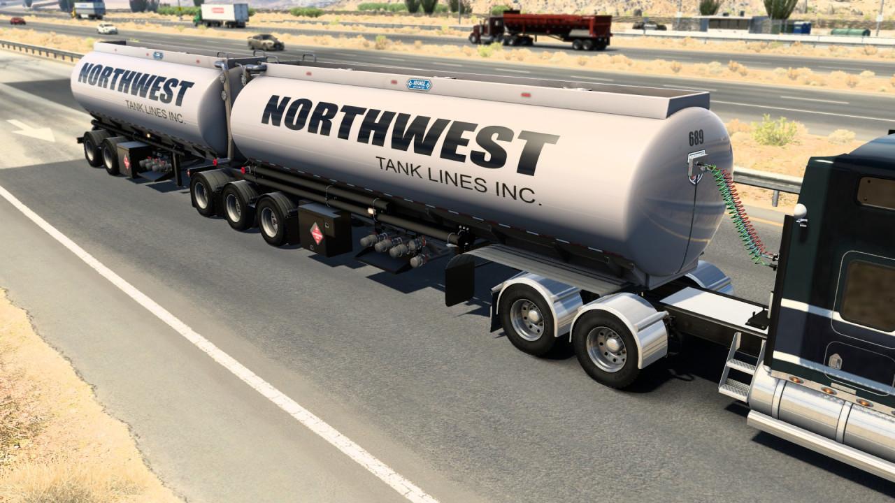 Advanced B-Train Tanker 1.42.x 13.10.21