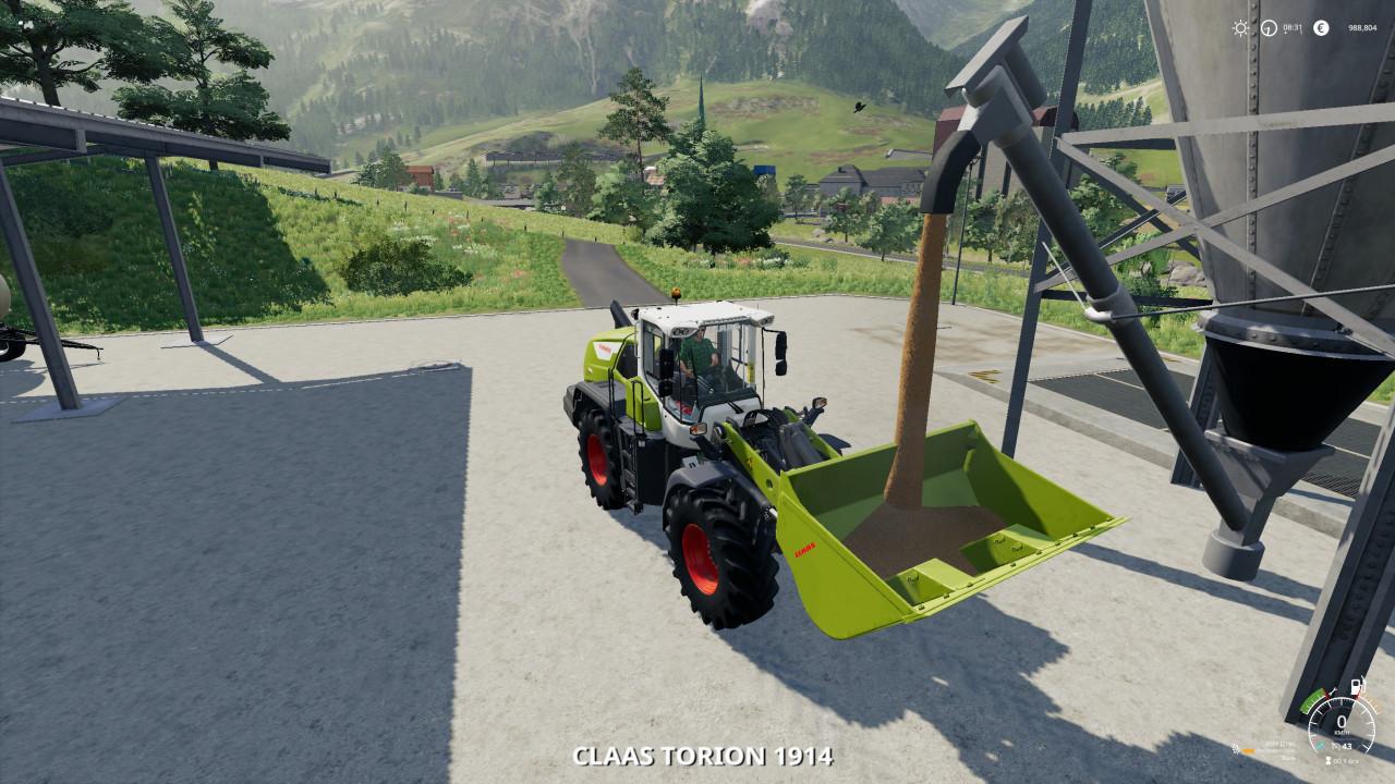FS19 Claas WheelLoader Tools