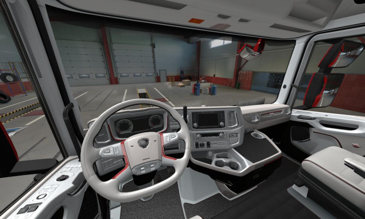 SCANIA 2016 Next Gen interior