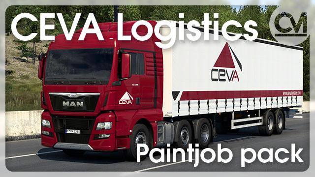 CEVA Logistics Paintjob Pack