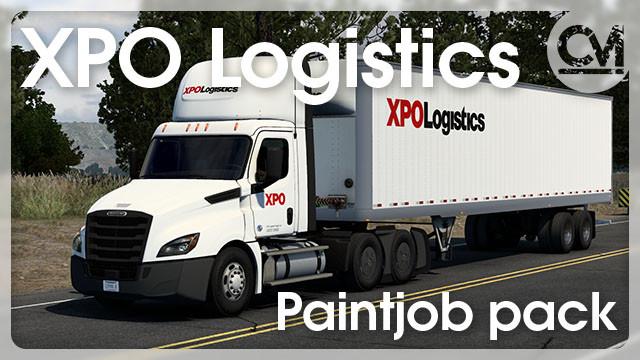 XPO Logistics Paintjob Pack