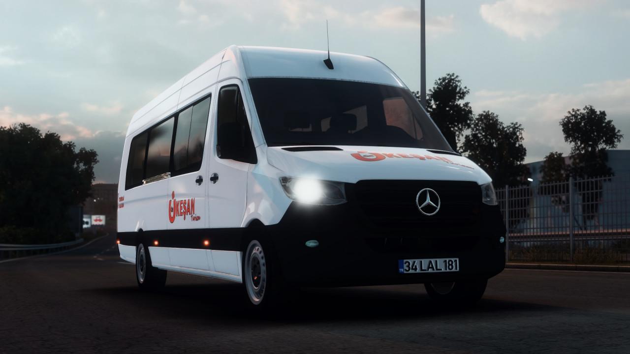 Mercedes Benz Sprinter 2019 V1R10 ATS (1.35)
